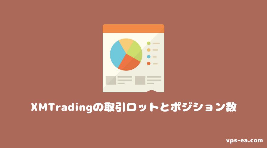 XMTradingの取引ロットとポジション数
