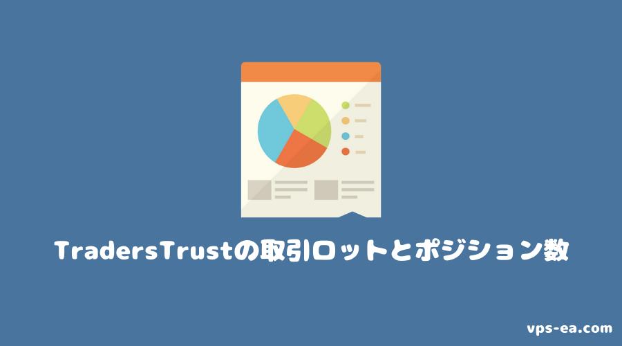 TradersTrust(トレーダーズトラスト)の取引ロットとポジション数