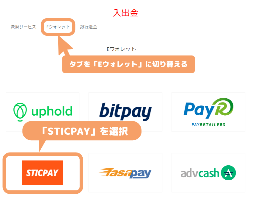 Tradeview入金-STICPAY