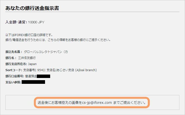 iFOREX入金-現地銀行/電信送金先