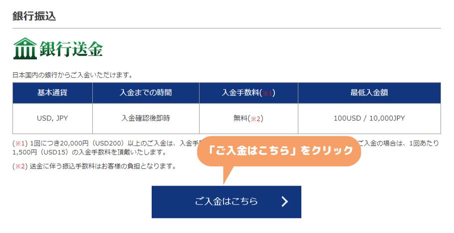 is6com入金-国内銀行送金