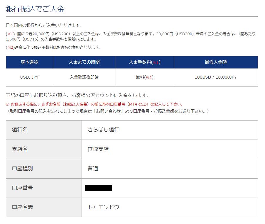 is6com入金-国内銀行送金先