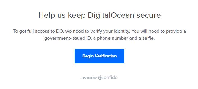 Help us keep DigitalOcean secure
