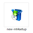 GEMFOREXデモ口座開設-new-mt4setupをダブルクリック