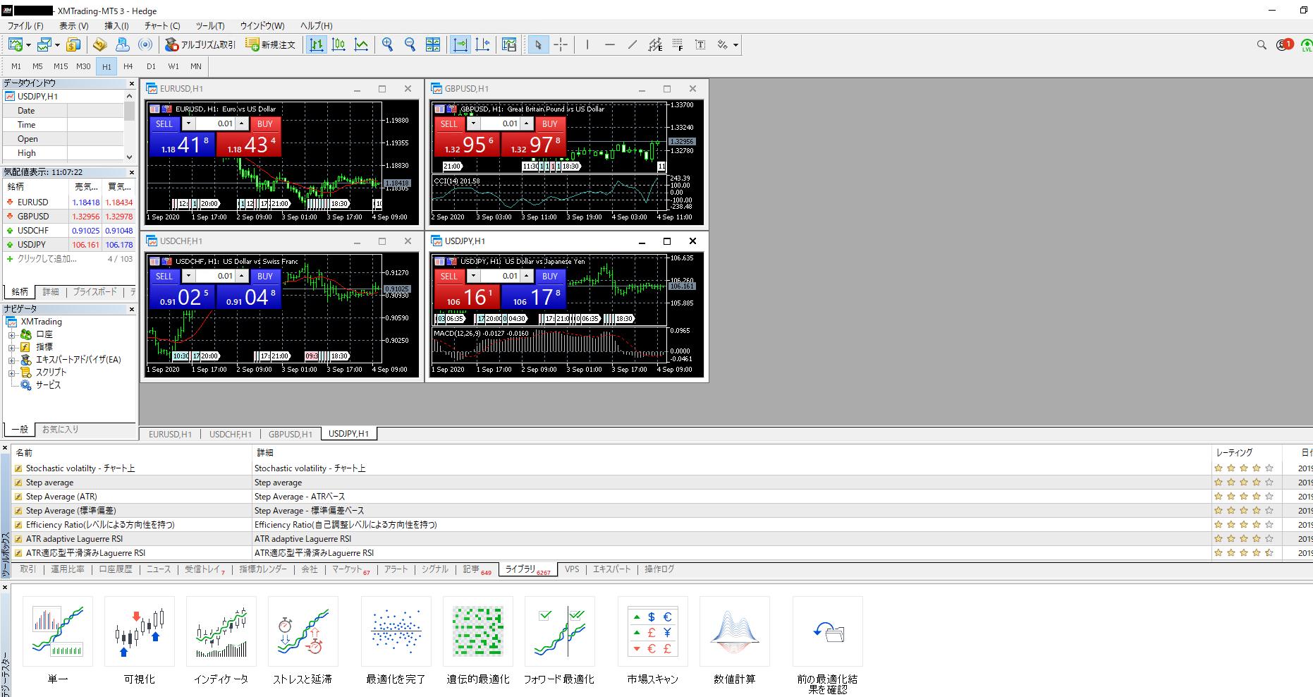MetaTrader4/5のインストール-MetaTrader5ログイン完了
