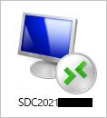 お名前.com デスクトップクラウド for MT4-RDPファイルを開く
