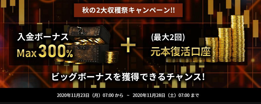IS6FX-300%入金ボーナス
